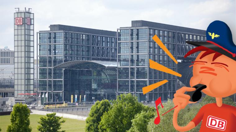 Oli kennt den Hauptbahnhof ganz genau; Bild: DB AG / Axel Hartmann (DB95920)