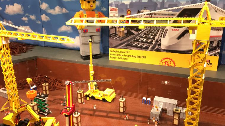 Baustart für den kleinen Berliner Hauptbahnhof