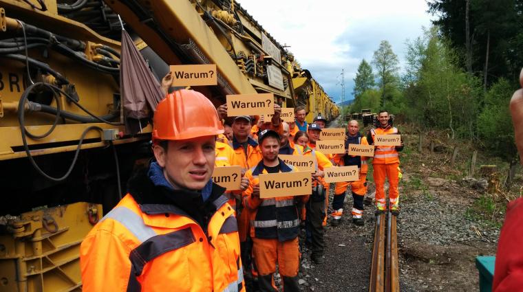 """Die """"Sendung mit der Maus"""" bei der Bahn © WDR/Katja Engelhardt"""