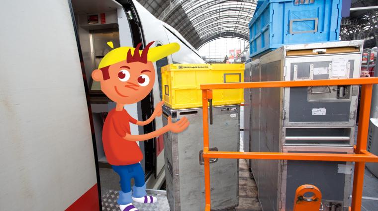 Bord-Logistik / Bild: DB AG/Titus Ackermann