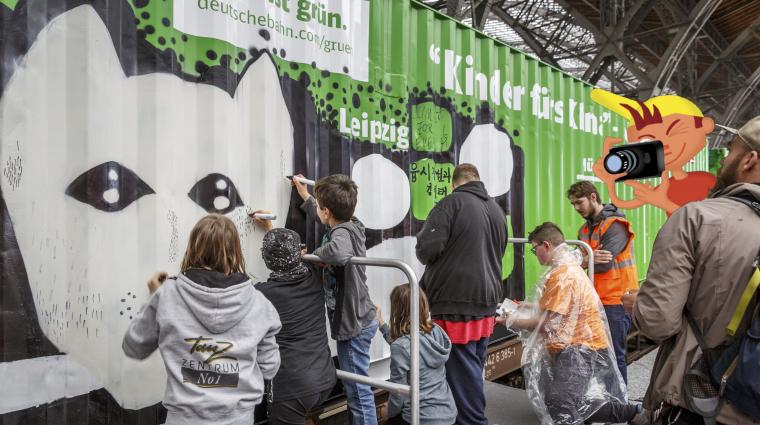 Noah's Train Aktion / Bild: Deutsche Bahn AG / Michael Neuhaus