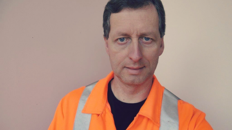 Gleisarbeiter; Bild: DB AG