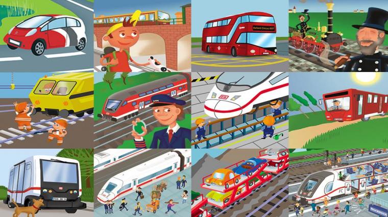 Bahn-Memo Züge und andere Bahnahrzeuge; Bild: DB AG/ Titus Ackermann