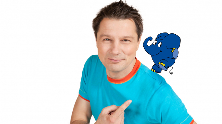 "André Gatzke aus ""Die Sendung mit dem Elefanten"" / Foto: WDR"