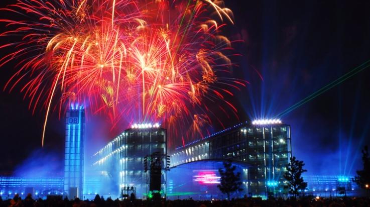 Großes Fest zur Eröffnung; Bild: DB/Jet-Foto Kranert