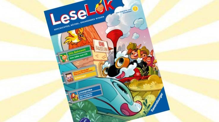 Die neue LeseLok ist da!; Bild: DB/Ravensburger, Sascha Wüstefeld, Titus Ackermann