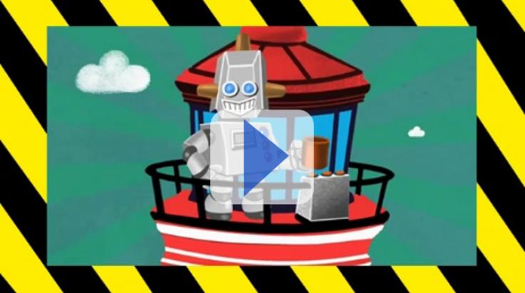 Mister Roboto: Bildnachweis: Deutsche Bahn AG/Grafik: Titus Ackermann