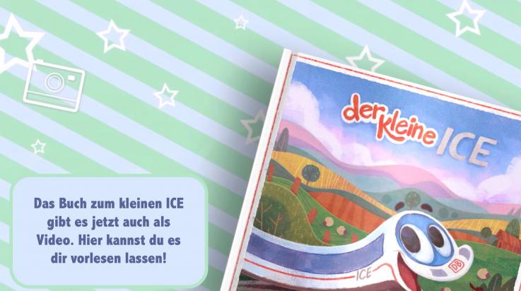 Der kleine ICE – das Video zum Buch; Bild: DB AG / Der kleine ICE