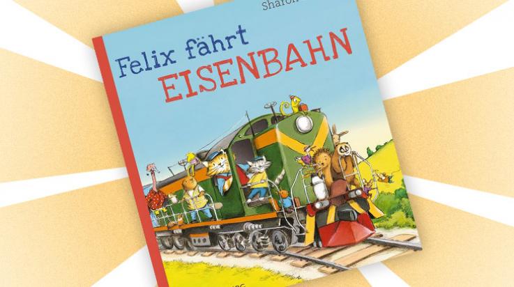 """Kinder-Buch """"Felix fährt Eisenbahn"""" / Cover: Gerstenberg-Verlag"""