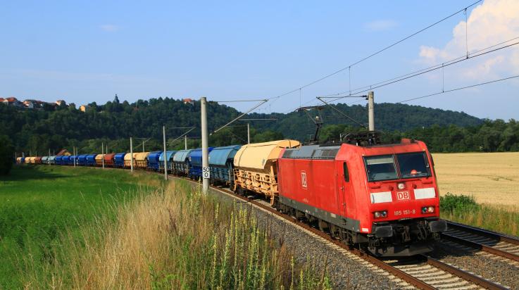 Güterzug / Bild: DB AG/Jochen Schmid