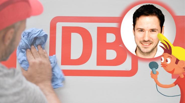 Markendesigner Bruno Scheffler; Bild: DB AG / Titus Ackermann (Oli-Grafik), Bruno Scheffler, DB AG / Oliver Lang (DB167353)