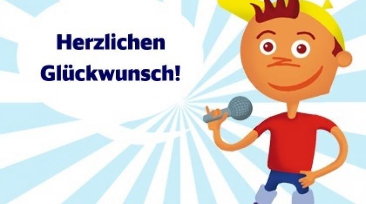 Selbst ein eifriger Leser der Kinderwelt-Seiten in der DB MOBIL: Oli  © DB AG
