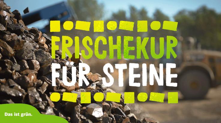 Schotter und Steine; Bild: DB AG