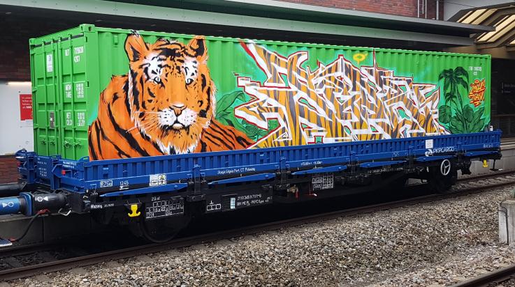 Noah's Train / Bild: DB Station & Service AG