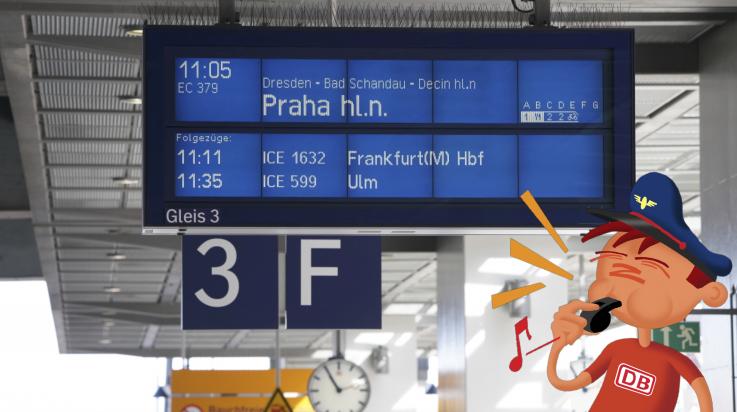 Mit der Bahn durch Europa / Bild: Deutsche Bahn AG /Volker Emersleben; Grafik: Titus Ackermann