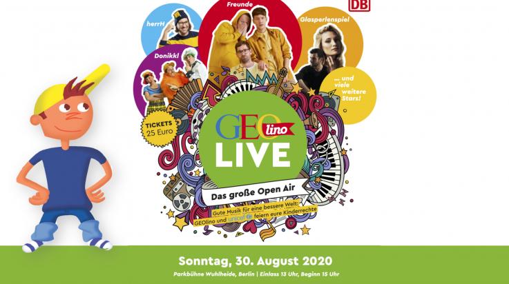 GEOlino Live 2020; Bild: GEOlino / Grafik: Titus Ackermann