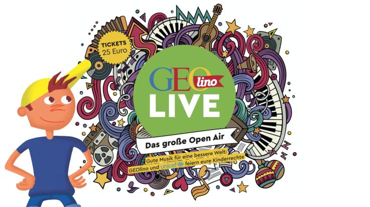 GEOlino Live 2020 / Bild: GEOlino / Grafik: Titus Ackermann