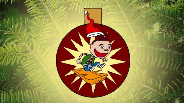 Weihnachtsbaumkugel zum Basteln; Bild: Titus Ackermann
