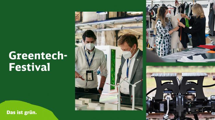 Greentech Festival 2021; Bild: DB AG / Dominic Dupont