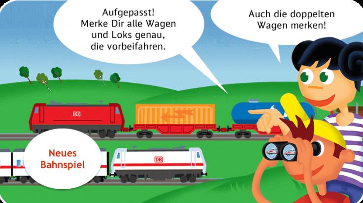 Oli und Kaori merken sich die vorbeifahrenden Züge © Dutyfarm/Titus Ackermann