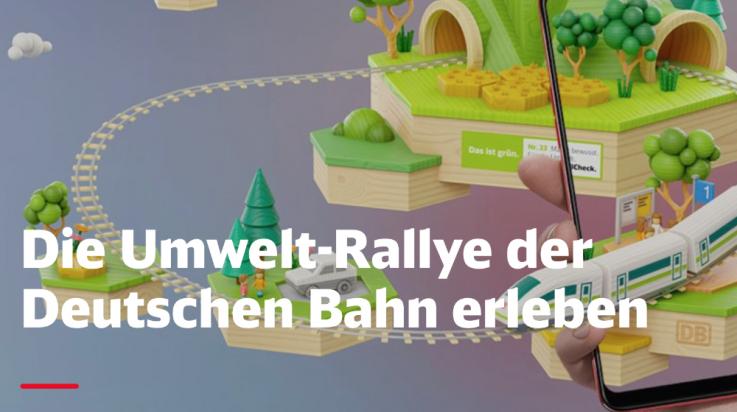 Umwelt Rallye; Bild: DB AG