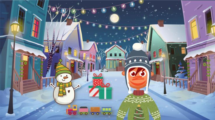 Weihnachtsgewinnspiel Bild: Shutterstock (imaginasty, robuart, danka) / Grafik: Titus Ackermann