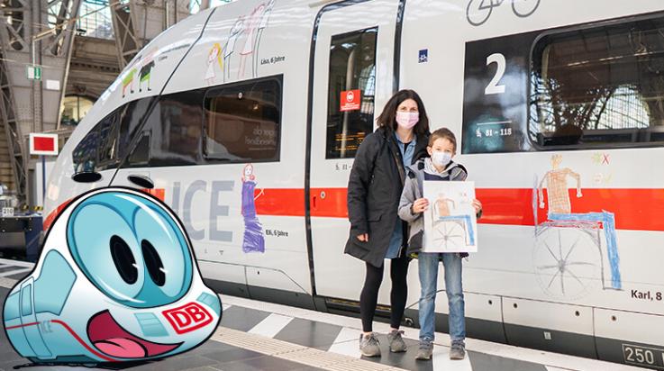 Zügiges Wiedersehen; Bild: DB AG / Der kleine ICE