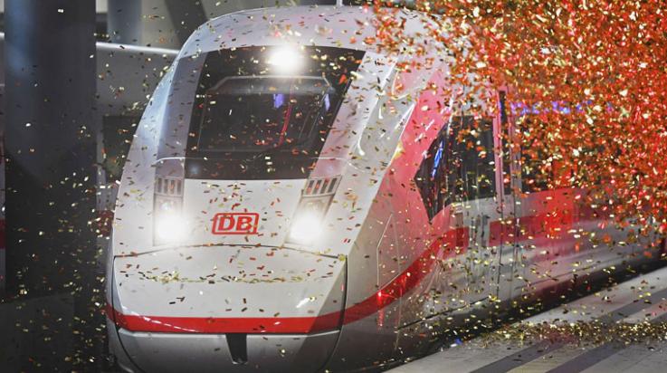 Der neue ICE 4; Bild: DB AG/ Max Lautenschläger
