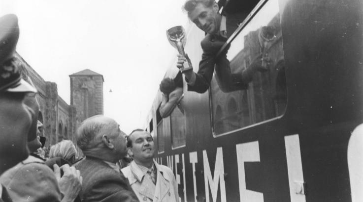 Der Weltmeisterzug von 1954; Bild: DB Museum Nürnberg