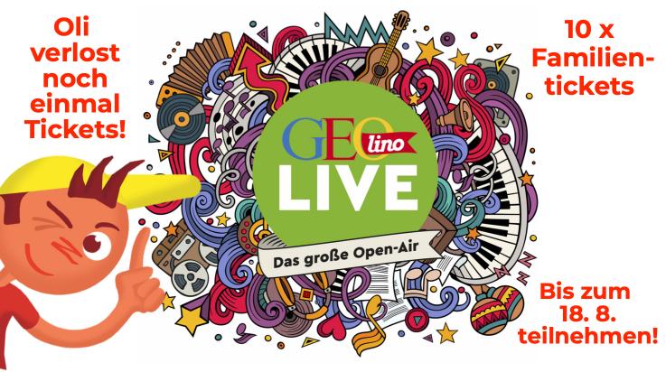 GEOlino Live Gewinnspiel / Bild: GEOlino / Grafik: Titus Ackermann