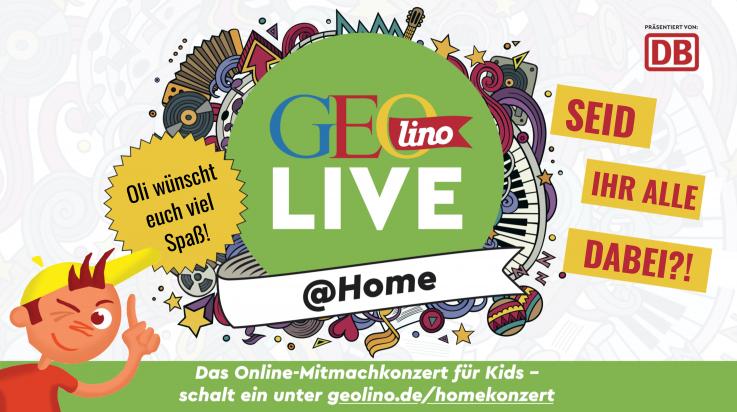 GEOlino LIVE @ Home; Bild: GEOlino/GEOlino LIVE @ Home