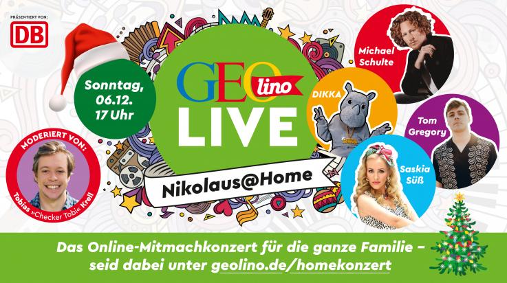 GEOlino LIVE @ Home Nikolaus; Bild: GEOlino/GEOlino LIVE @ Home