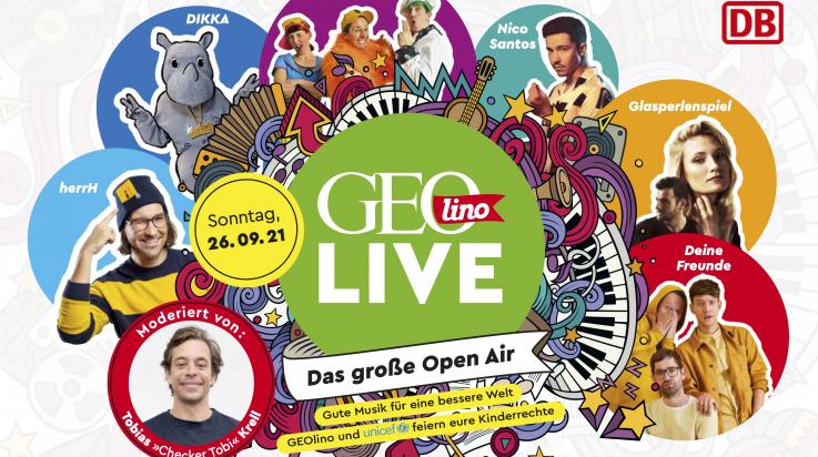 GEOlino Live 2021; Bild: GEOlino