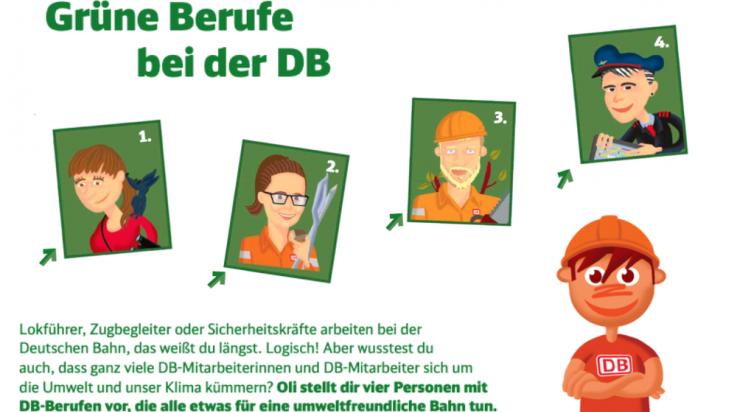 Grüne Berufe bei der Bahn; Bild: DB AG / Titus Ackermann
