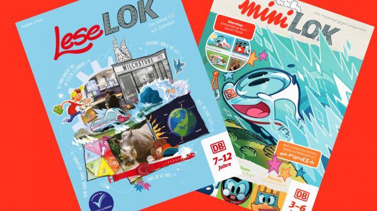 LeseLOK und miniLOK; Bild: DB AG