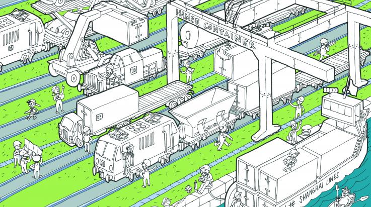 Güterbahnhof / Bild: Titus Ackermann/DB AG