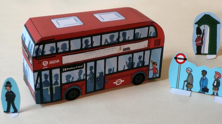 Doppeldecker Bus; Bild: Titus Ackermann
