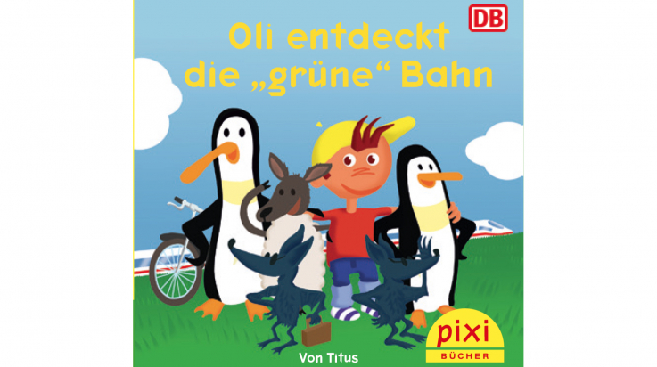 "Oli entdeckt die ""grüne"" Bahn; Bild: DB AG / Titus Ackermann"