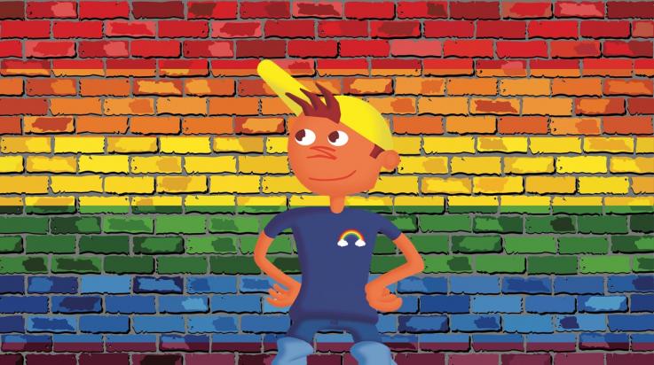 Regenbogen für Toleranz; Bild: Shutterstock, Jugoslav Drobnjak, Abstracto Create; Oli-Grafik: DB AG / Titus Ackermann