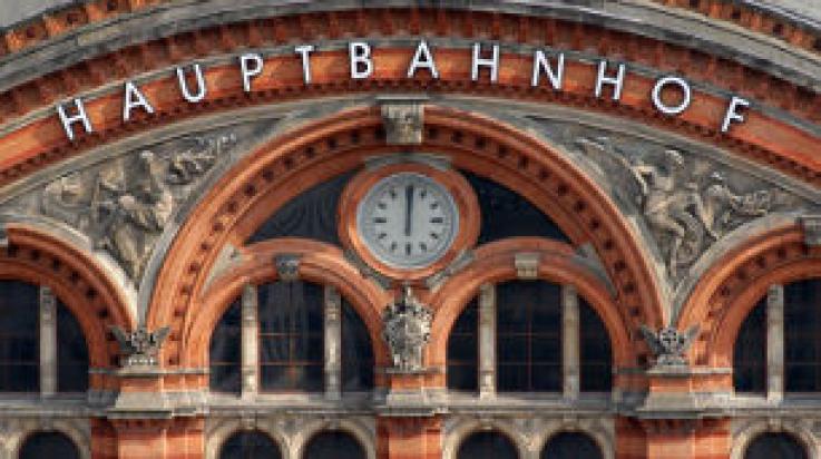 Bahnhofsuhr am Hauptbahnhof