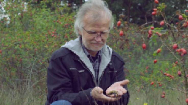 Alfred Cramm, Experte für Naturschutz bei der Deutschen Bahn; Bild: DB