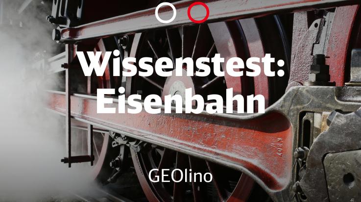 Wissenstest GEOlino Eisenbahn; Bild: DB AG